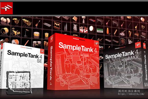 IK Multimedia SampleTank 4 v4.1.4+MAX Sound Content v1.5.0 WIN/MAC坦克采样4
