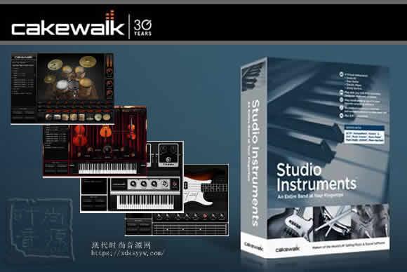 Cakewalk Studio Instruments Suite v1.0.0.12 PC乐器4件套