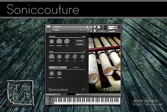 SonicCouture – Tingklik v2.0.0 (KONTAKT)竹子打击乐器