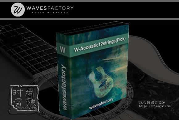 Wavesfactory W-Acoustic 12 Strings(Pick)12弦原声吉他拨片