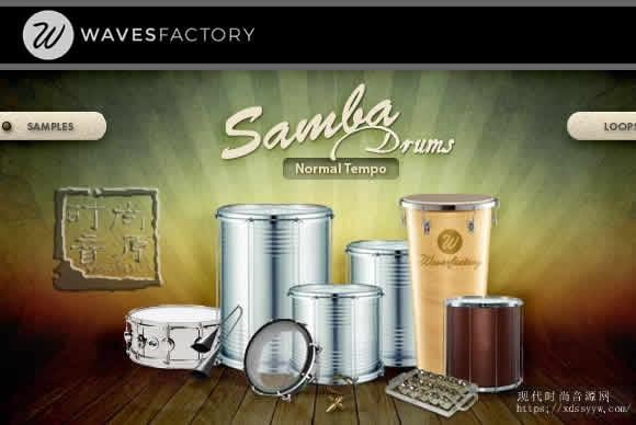 Wavesfactory Samba Drums KONTAKT忘情的桑巴鼓