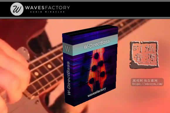 Wavesfactory W-DirectBass KONTAKT电贝司音源