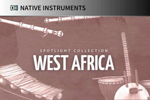 Native Instruments West Africa v1.4.1 KONTAKT西非打击乐