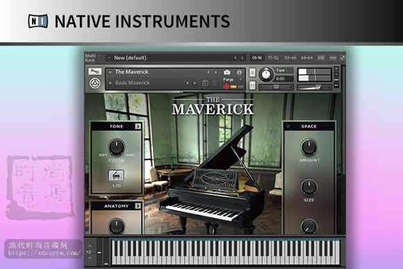 Native Instruments The Maverick v1.2 KONTAKT精选三角钢琴