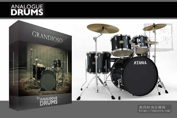 Analogue Drums Grandioso KONTAKT WAV EXS24