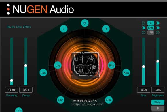 NUGEN Audio Paragon 1.1.1.2 PC卷积混响