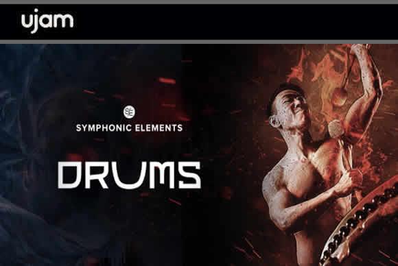 uJAM Symphonic Elements DRUMS v1.0.0 PC交响乐元素鼓