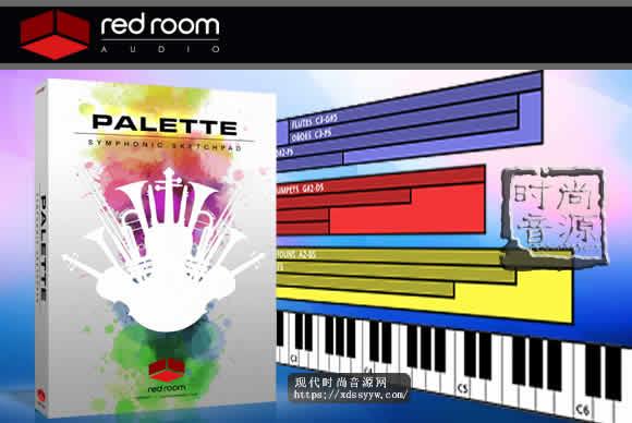 Red Room Audio Palette Symphonic Sketchpad v1.1 KONTAKT电影配乐合奏