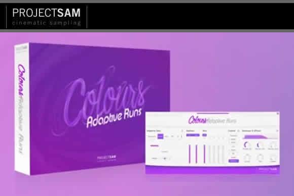 ProjectSAM Colours Adaptive Runs 1.0.1 KONTAKT自动节奏管弦乐