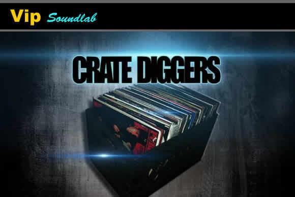Vip Soundlab Crate Diggers KONTAKT MASCHiNE  WAV 鼓合成器