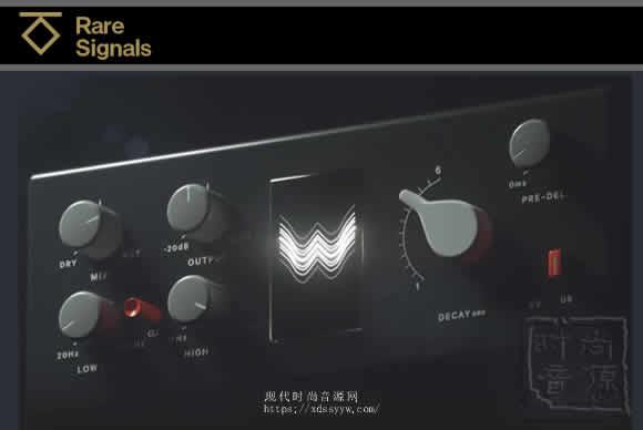 Rare Signals Transatlantic Plate Reverb v1.2.0 PC板式混响
