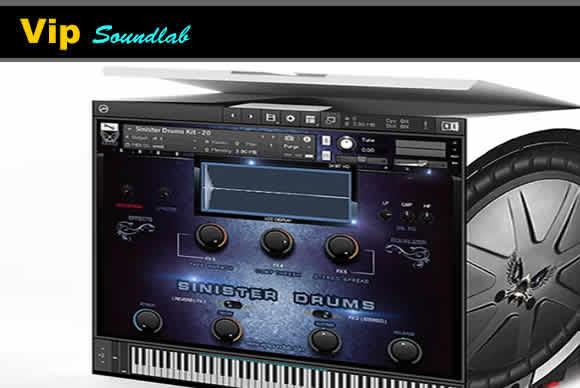 Vip Soundlab Sinister Drums HD KONTAKT邪恶鼓