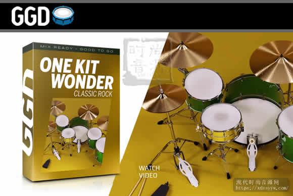 GetGood Drums One Kit Wonder Classic Rock KONTAKT经典摇滚鼓