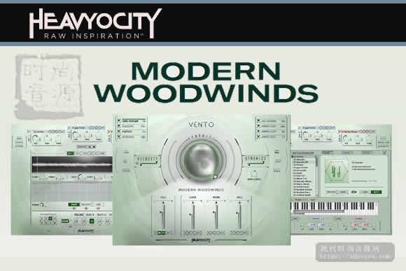 Heavyocity VENTO Moder Woodwinds KONTAKT现代木管风