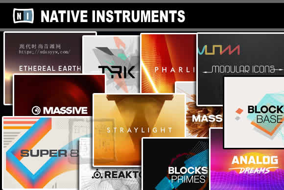 Native Instruments Synths Bundle 2021.9 PC合成器集